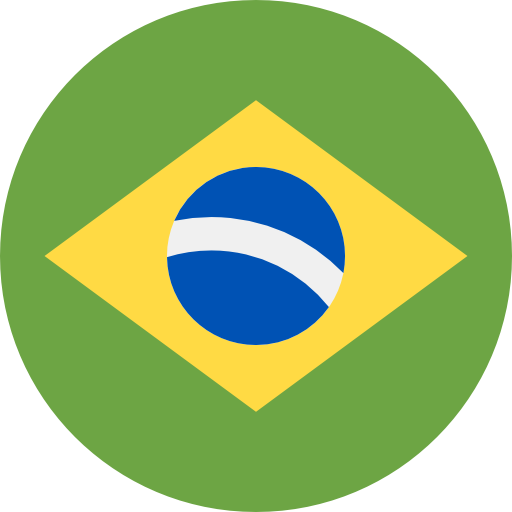 ícone da bandeira do Brasil